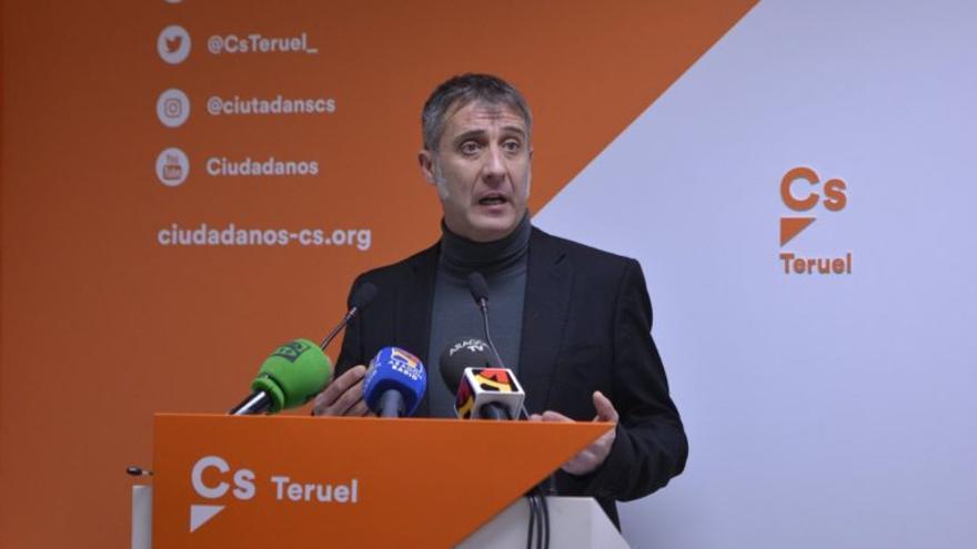 El secretario de Organización de Ciudadanos Aragón, Ramiro Domínguez