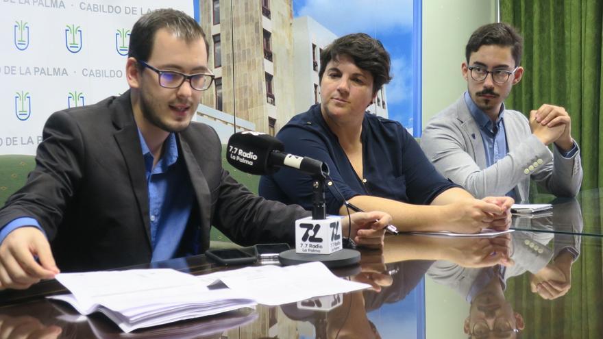 Rueda de prensa ofrecida este jueves en el Cabildo.