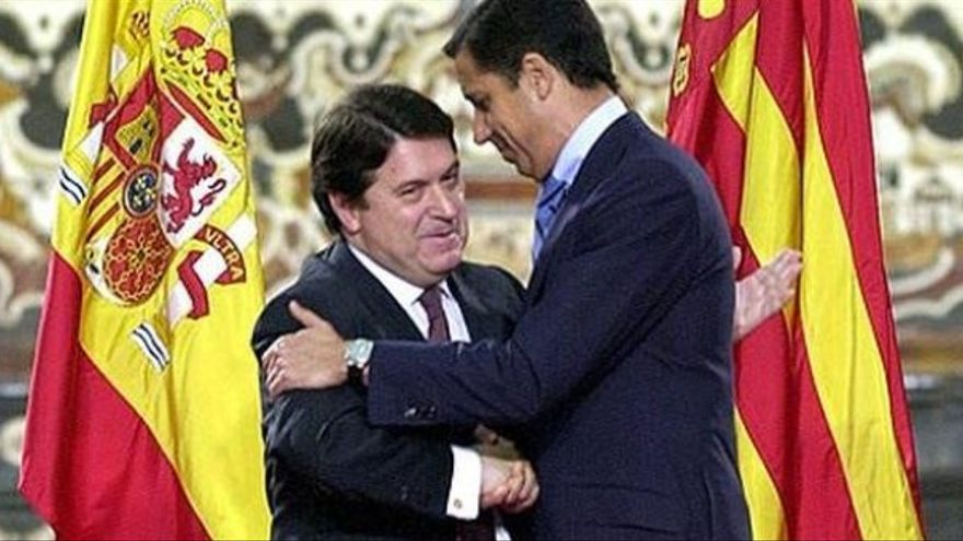 José Luis Olivas tomó el relevo de Eduardo Zaplana al frente de la Generalitat