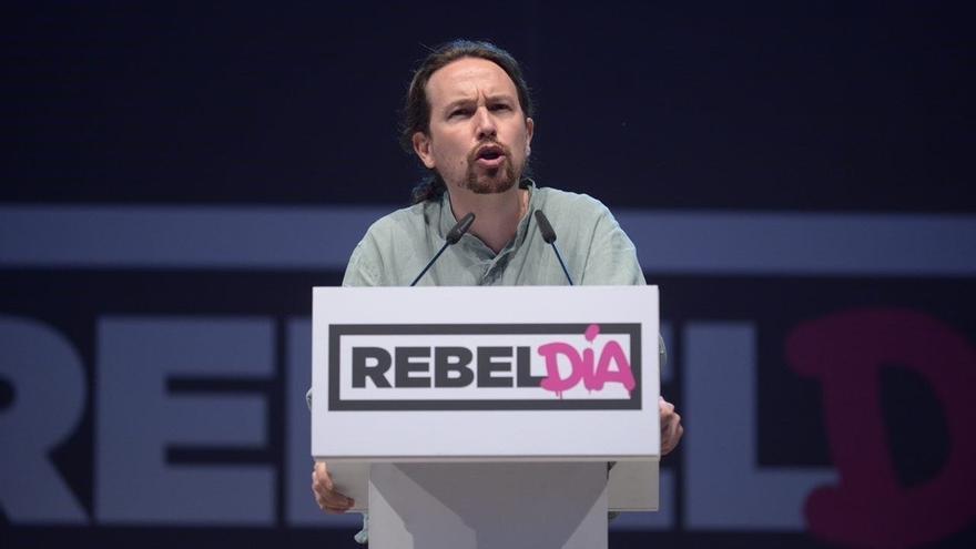 """Iglesias afirma que Podemos respetaría el resultado de un referéndum """"con garantías y efectos jurídicos"""""""