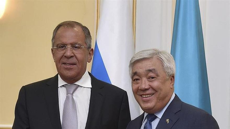 Lavrov llega a Kazajistán para la reunión de los países del Caspio