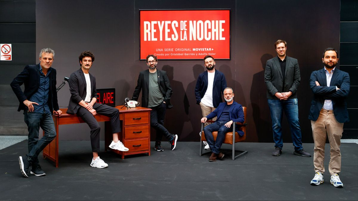 Imagen de la presentación de 'Reyes de la noche'