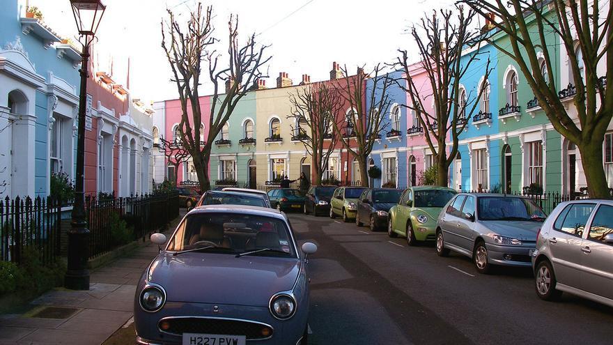 El colorido barrio de Kentish Town en Londres, que retrata Zadie Smith