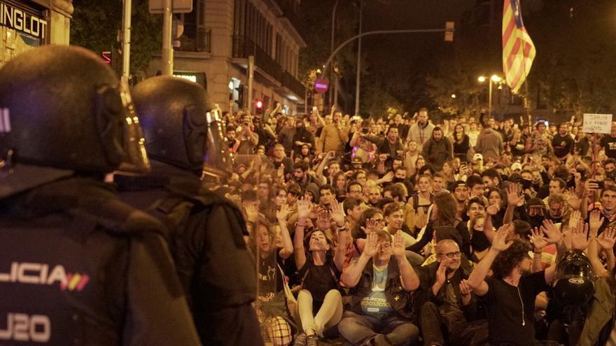 La manifestación de Barcelona ha reunido a unas 6.000 personas según la Guardia Urbana
