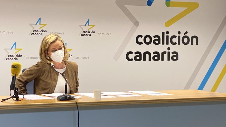 """Ana Oramas defiende el honor de su familia y de los técnicos de La Laguna: """"No cobré nada de la venta de la finca"""""""