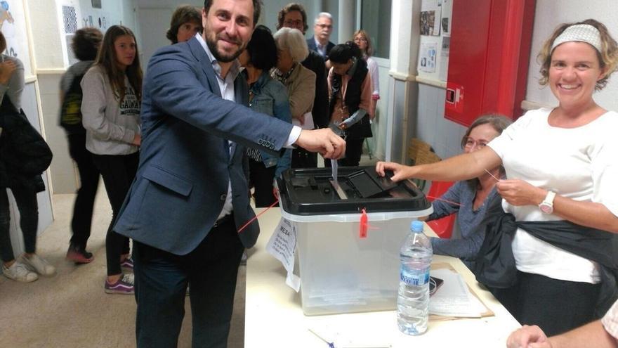 Todos los miembros del Gobierno catalán han votado