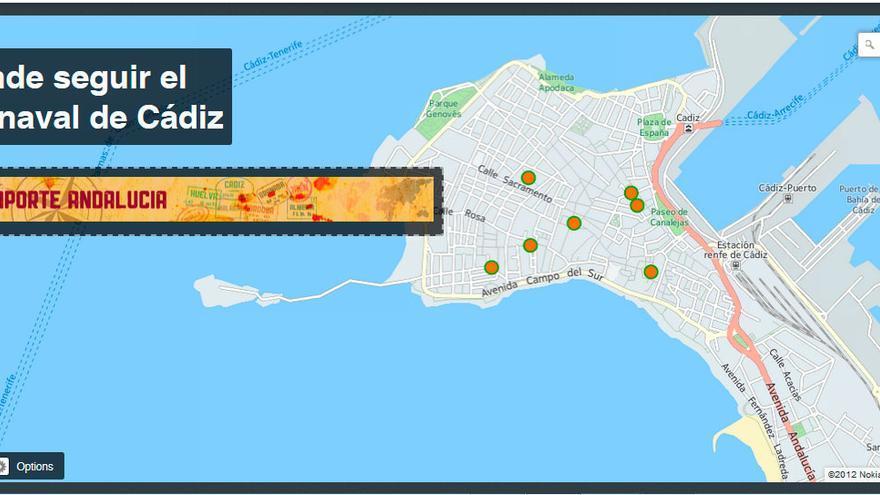 Rincones para escuchar a las agrupaciones del Carnaval de Cádiz.
