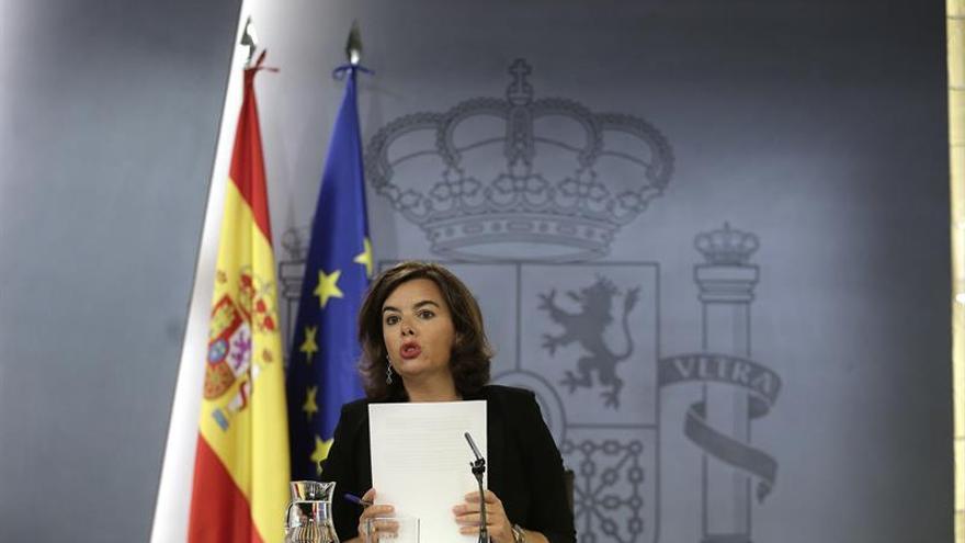 """Santamaría advierte de que """"no tener Gobierno tiene un coste"""""""