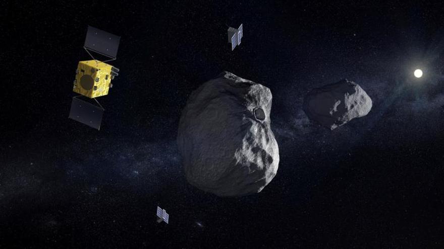 La colisión de un asteroide con la Tierra: totalmente real pero no acuciante