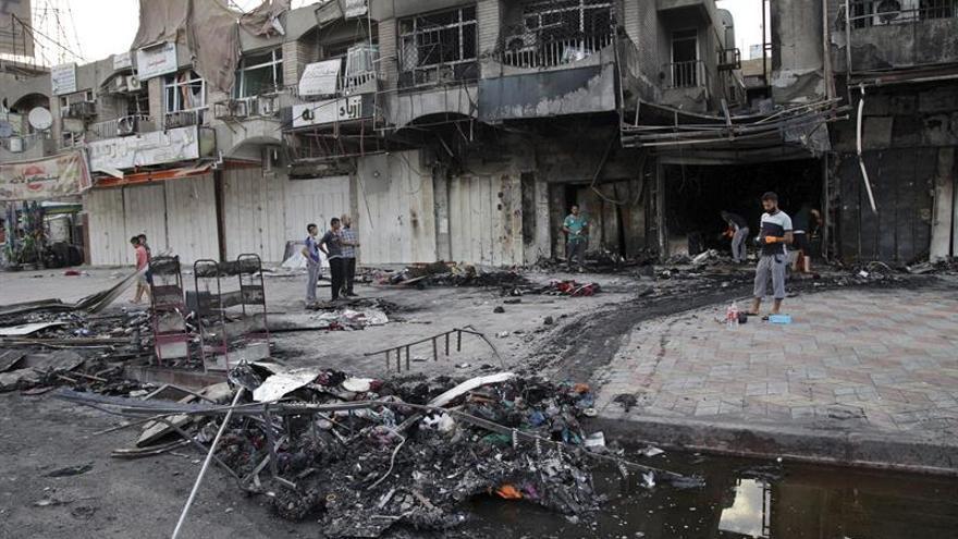 El EI identifica al suicida que mató a 16 personas en el oeste de Irak