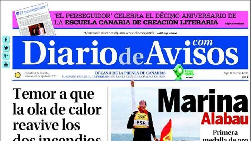 De las portadas del día (08/08/2012) #3