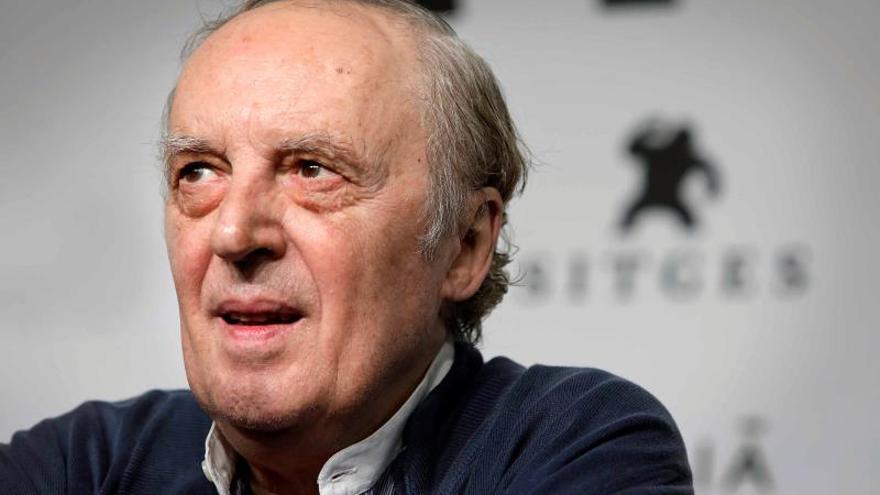 El director de cine italiano Darío Argento.