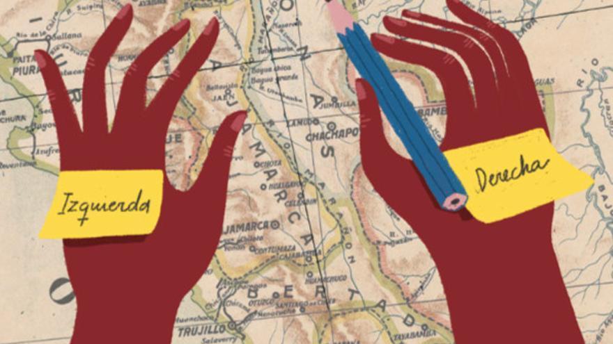 Cada vez que dibuja el mapa de un bosque, la ingeniera geográfica Wendy Pineda se pega un trozo de cinta adhesiva sobre el dorso de cada mano y escribe 'izquierda' en uno y 'derecha' en el otro