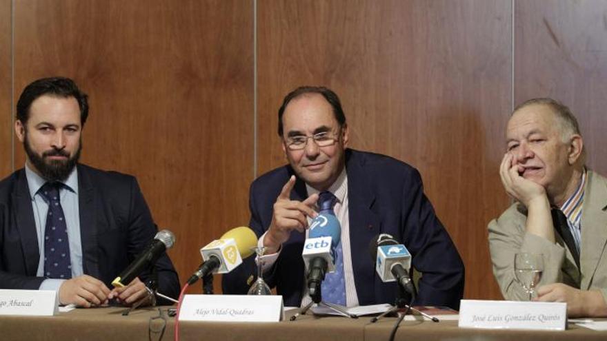 Vidal-Quadras solicita baja como afiliado del PP tras 30 años de militancia