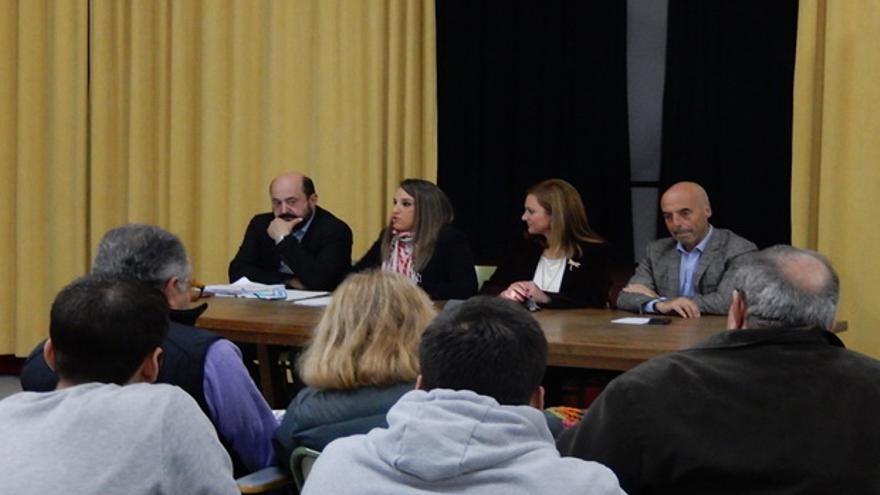 Acto de campaña del PSOE.