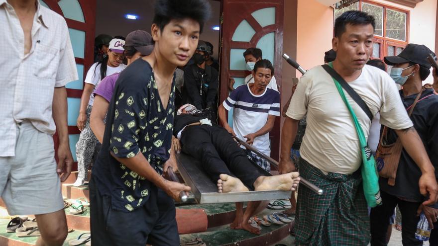 Los muertos por la violencia militar superan ya los 400 en Birmania