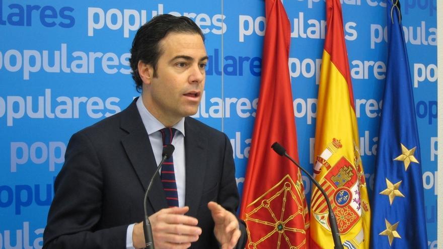 """Zalba (PPN) se muestra """"harto"""" de las declaraciones del Gobierno de Madrid sobre Navarra, que cree """"impresentables"""""""