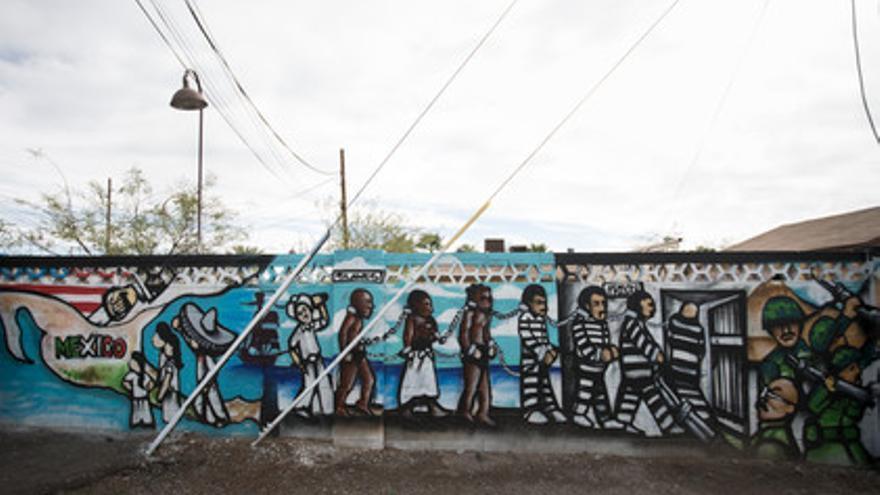 Muro que separa México de Estados Unidos // Hans Maximo Musielik/Amnesty International