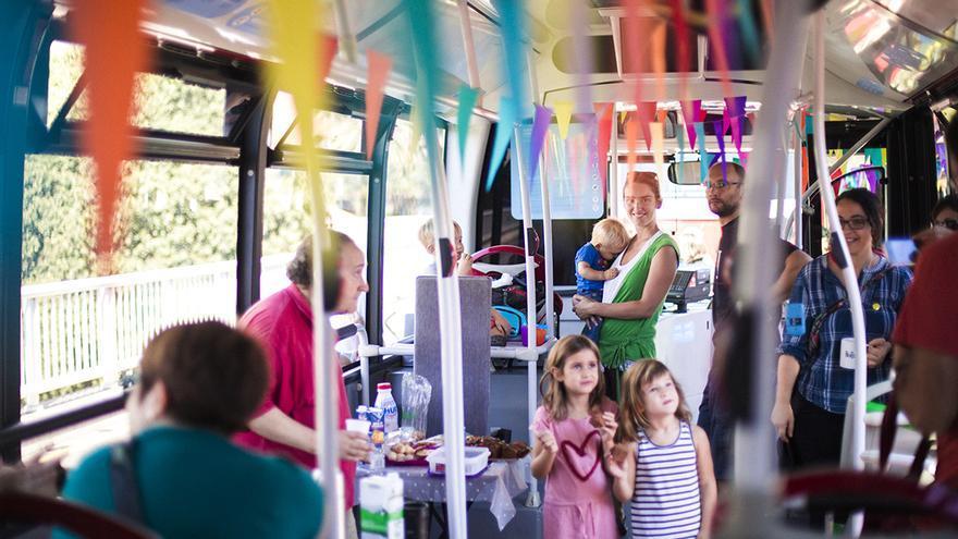 El autobús, una de las piezas clave del transporte sostenible urbano.