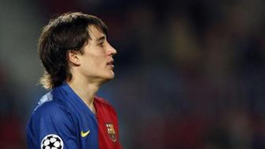 Bojan no se conforma con jugar sólo la Copa del Rey