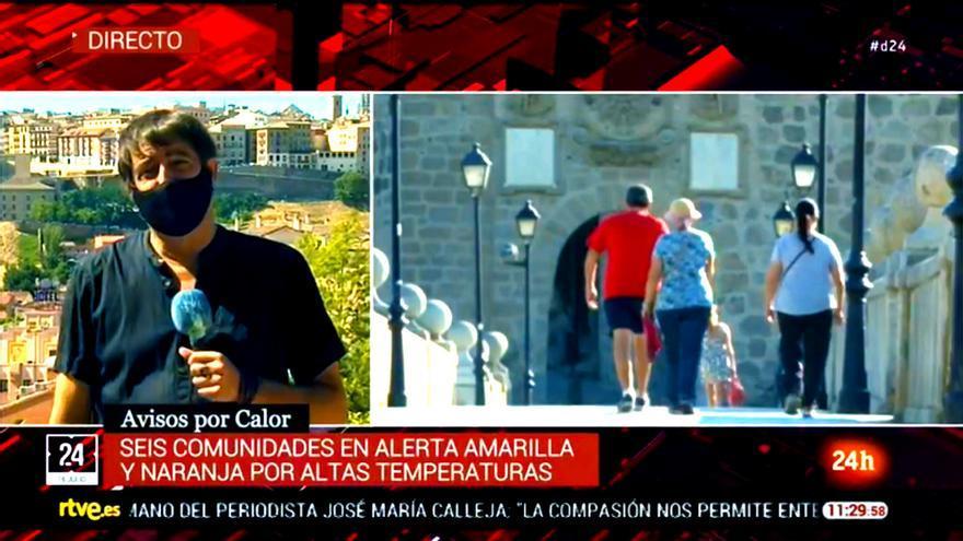 Juan Ballesteros en su intervención para Diario 24 de este jueves 16