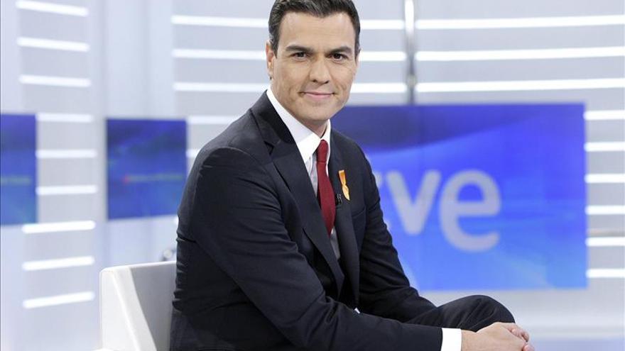 La entrevista a Pedro Sánchez en TVE fue vista por 2.245.000 espectadores