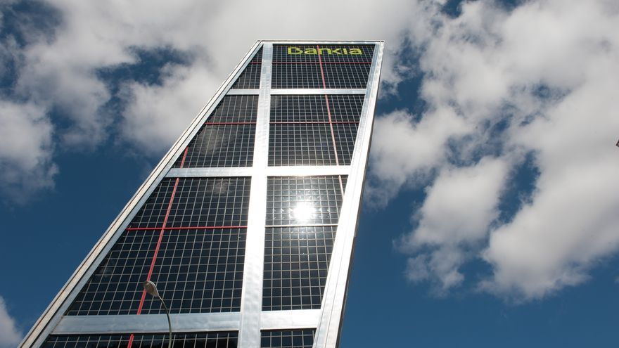 Fachada de la sede de Bankia.