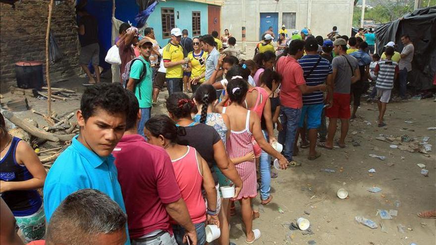 Unos 600 niños vuelven a clase en Cúcuta por un corredor humanitario fronterizo