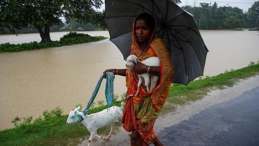 Suben a 34 muertos y 36 desaparecidos por inundaciones y deslizamientos en Nepal
