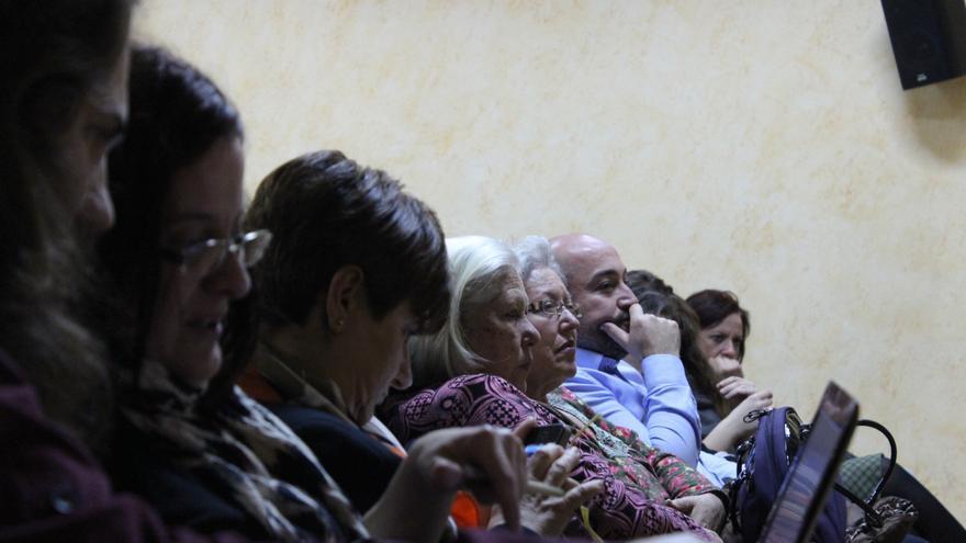 Asistentes a la tercera asamblea de Cambiemos Murcia / PSS