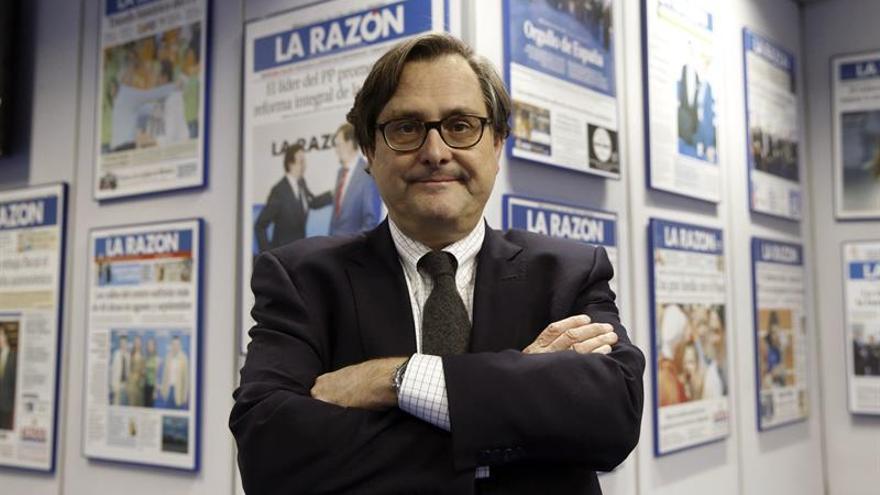 Francisco Marhuenda, en la sede de La Razón.