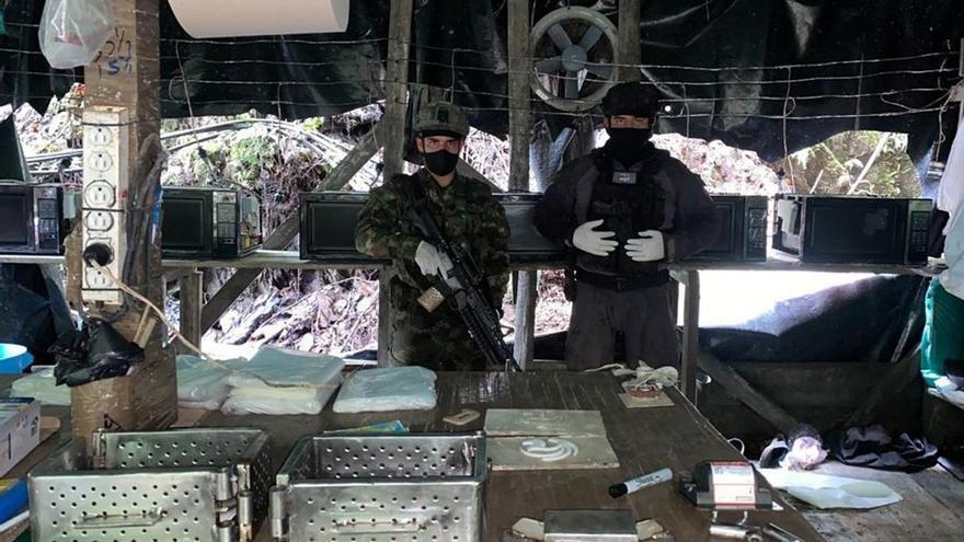 Incautan 6 toneladas de cocaína del ELN en el suroeste de Colombia