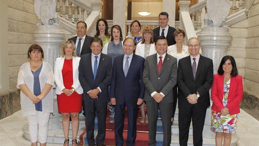 Conferencia de presidnentes de parlamentos autonómicos. EFE/Alberto Morante