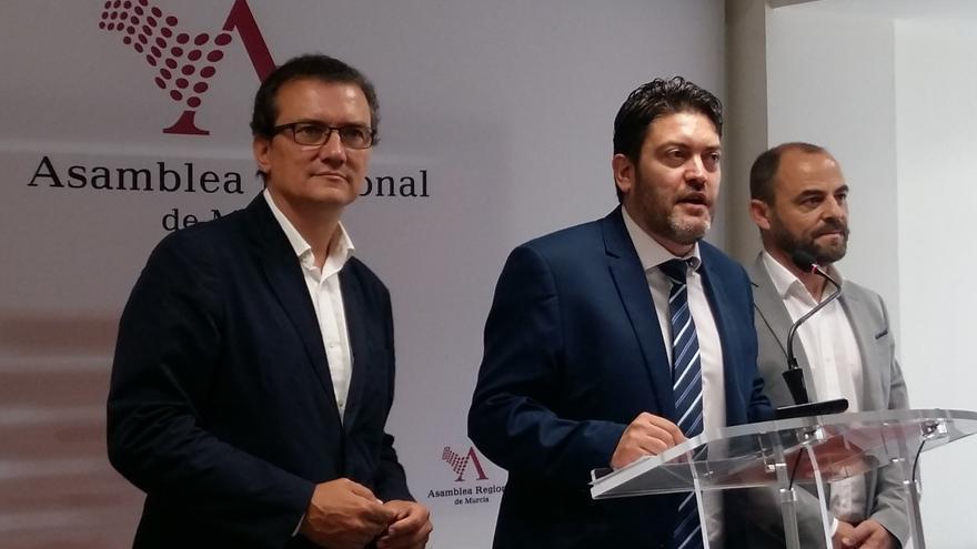 El portavoz de C´s en la Región de Murcia, Miguel Sánchez