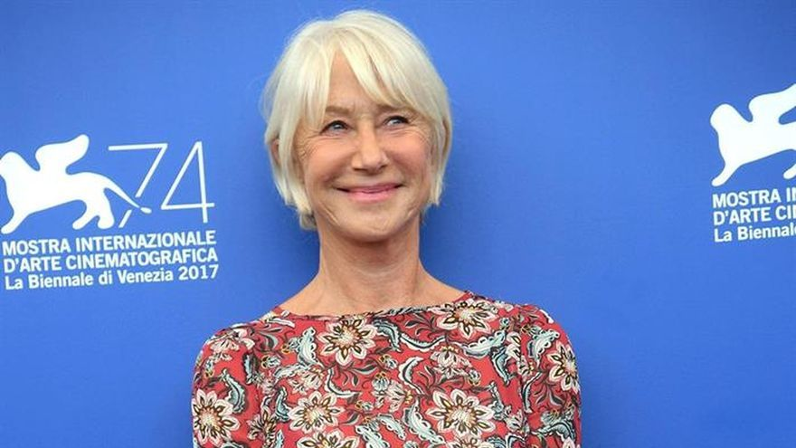 """Helen Mirren brilla y emociona en Venecia con """"The Leisure Seeker"""""""