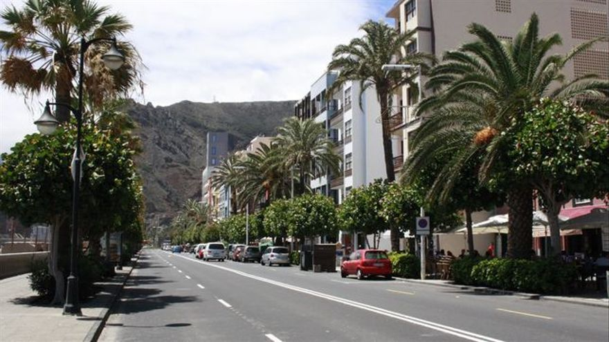 Imagen de la Avenida Marítima de la capital.