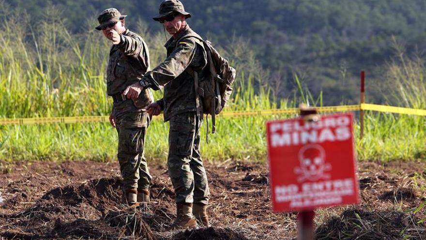 Gran aumento de víctimas por minas antipersona en 2016, el mayor desde 1999