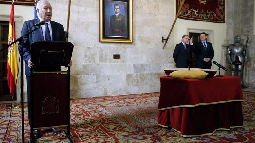 García-Margallo dice que no da tiempo a reformar la financiación esta legislatura