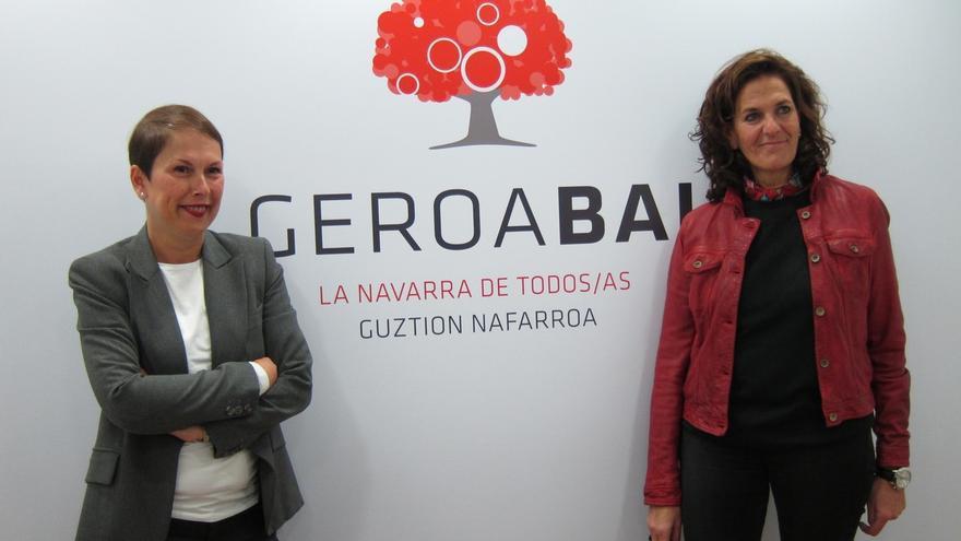 """Geroa Bai presenta una nueva imagen para reflejar su """"compromiso"""" con """"la construcción de un proyecto para toda Navarra"""""""