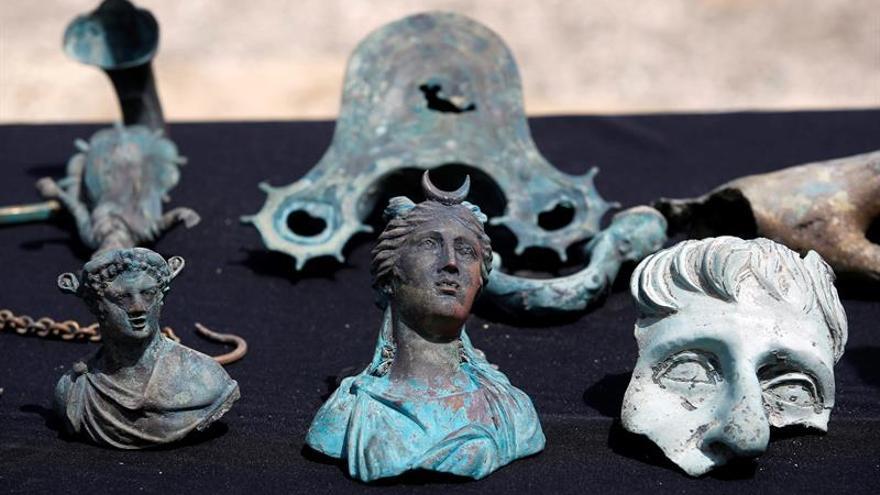 Descubiertos restos y monedas de 1.600 años de un pecio en aguas de Israel
