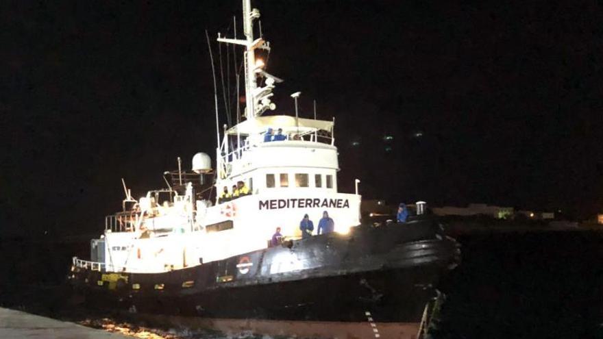 Italia ordena la incautación del barco Mare Jonio, con bandera italiana y perteneciente al proyecto Mediterranea Saving Humans.