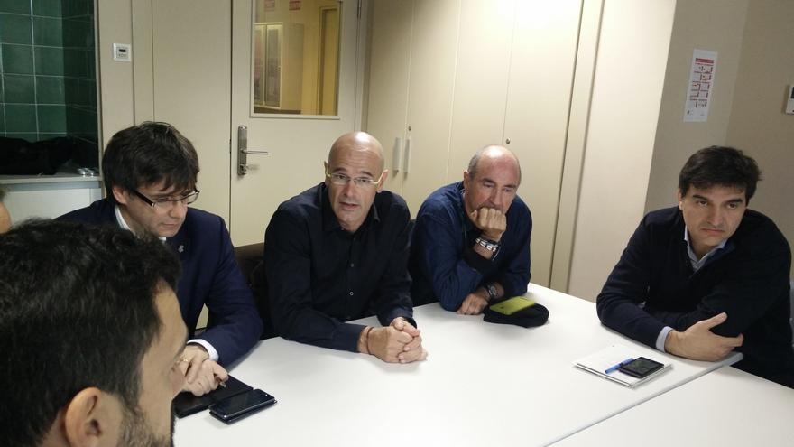 """Romeva (JxSí) apoya a Forcadell por la reunión de la Junta de Portavoces y dice que el Parlament """"ya no es autonómico"""""""
