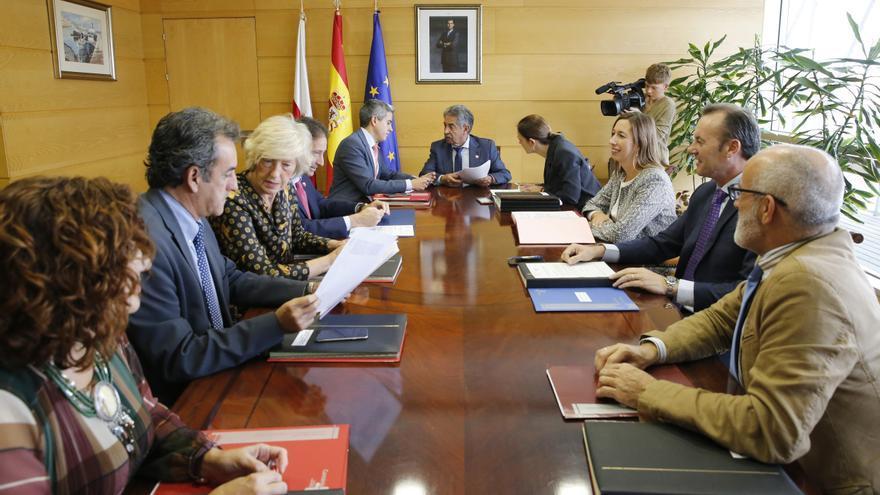 Consejo de Gobierno en el que se aprobaron los Presupuestos Generales de Cantabria para 2020. | LARA REVILLA