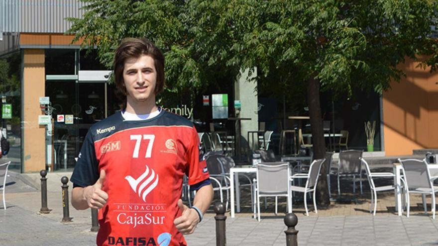 Carranza, nuevo jugador del Cajasur Córdoba Balonmano.