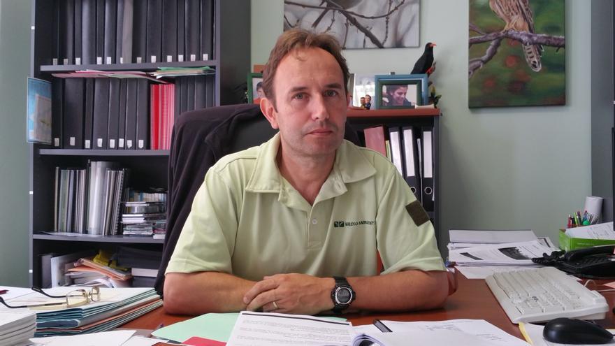 Francisco Prieto es jefe de la Sección de Montes del Cabildo. Foto: LUZ RODRÍGUEZ.