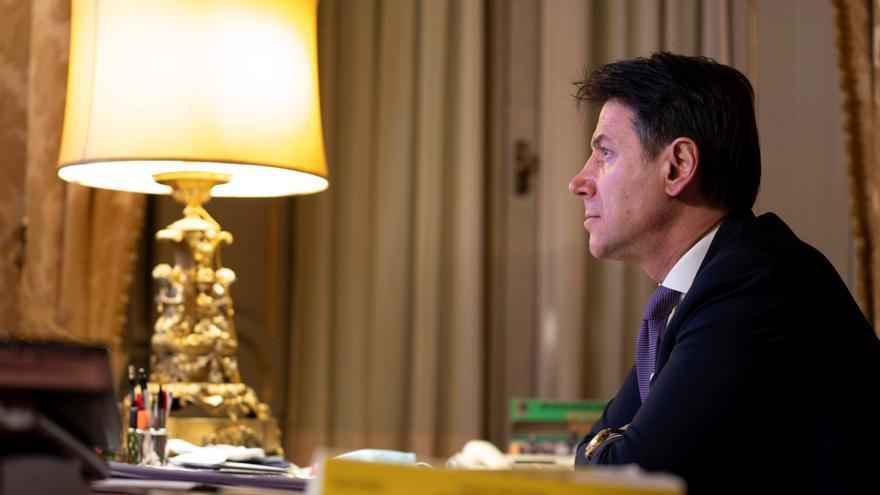 Conte se despide de sus ministros antes de presentar su dimisión a Mattarella