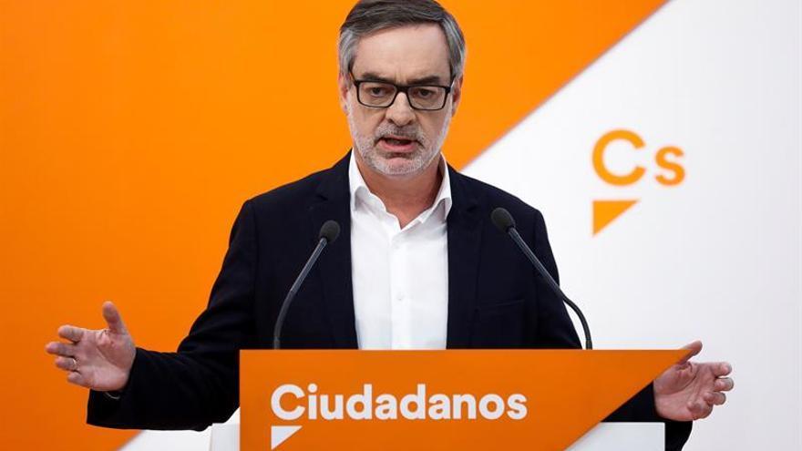 Ciudadanos pide que Plana explique su situación judicial en el Congreso