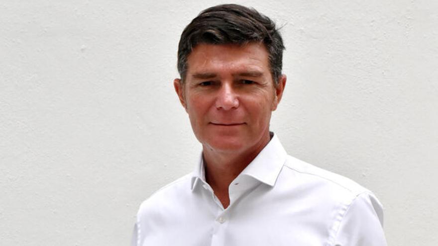 Guillermo Díaz Guerra, portavoz del Partido Popular en el Ayuntamiento de Santa Cruz de Tenerife y futuro vicealcalde de la Corporación si prospera la moción de censura.