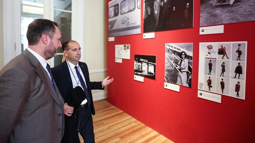 Fotos de Evita y John Wayne, testimonio de 70 años de transatlánticos de Iberia