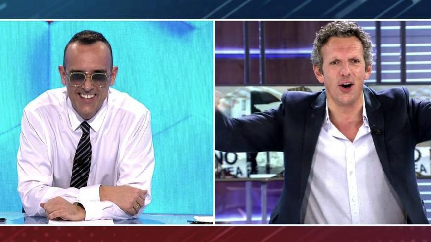 Risto Mejide y Joaquín Prat en 'Todo es mentira'